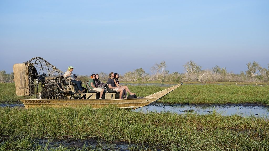 Mary River Wetlands Airboat