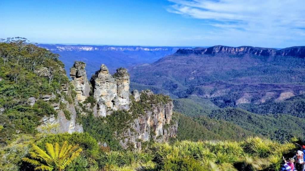 Three Sisters in de Blue Mountains, Australië