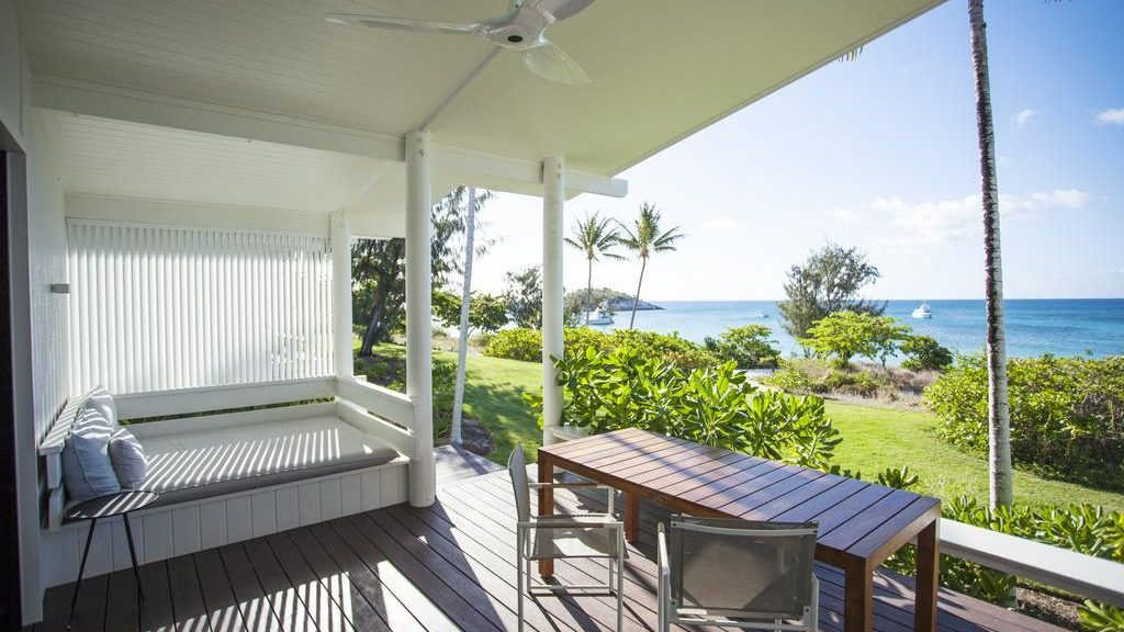 Lizard Island Resort Balkon