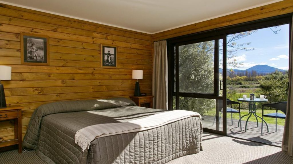 Tongariro Lodge Kamer