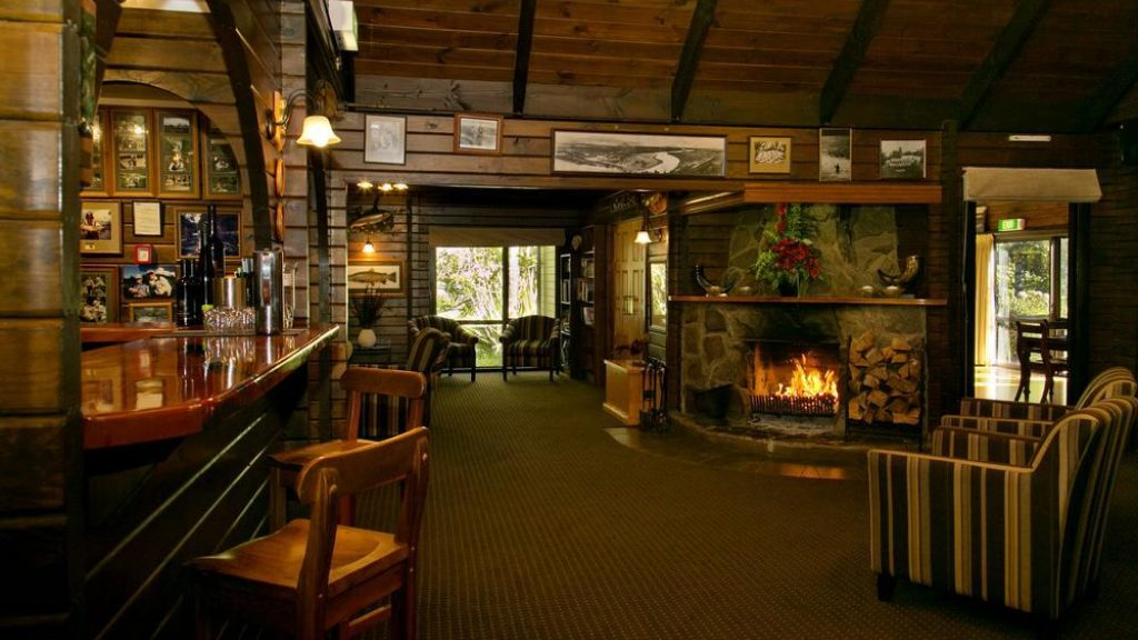 Tongariro Lodge Lobby