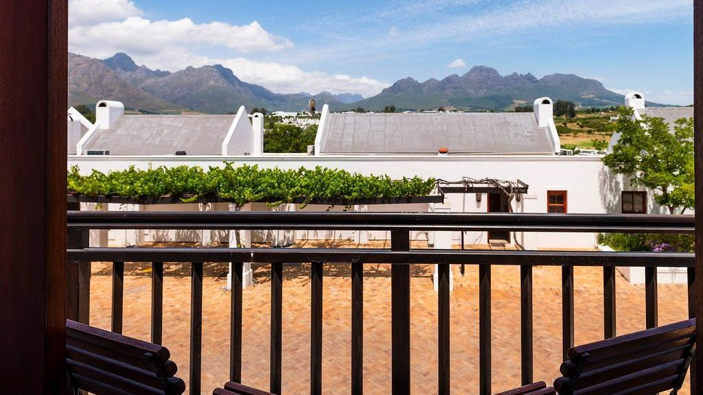 Zalze Lodge Balkon